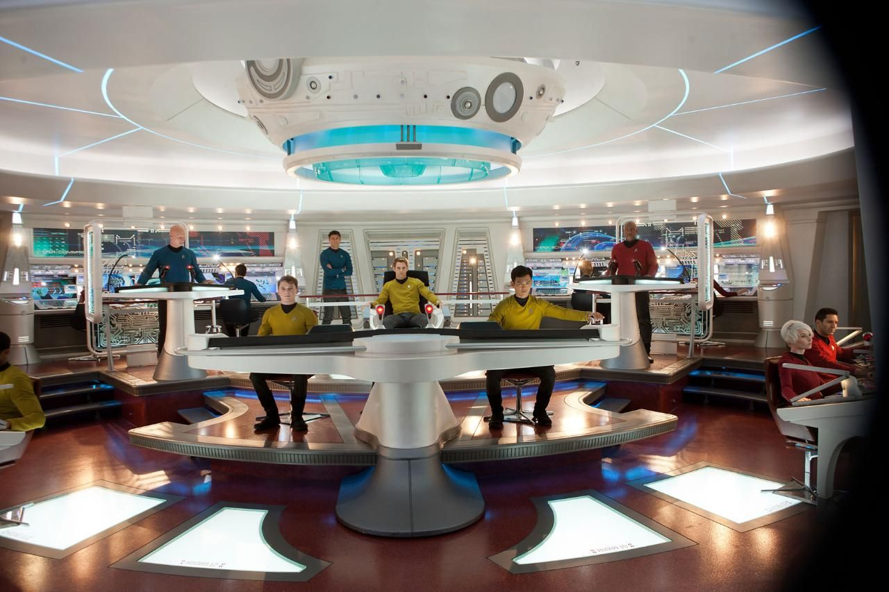 Starship enterprise bridge google search hitch hackers for Interieur 806