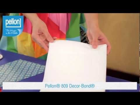 Need Some Tips On How To Use Pellon S 809 Décor Bond Let Sara Lawson Of Por Blog Sew Sweetness Help You Out