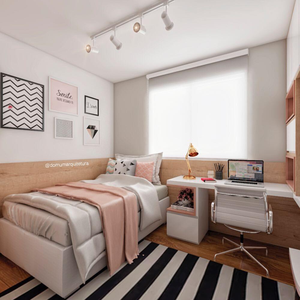 27 Small Bedroom Ideas Design Minimalist And Simple Pandriva Small Room Bedroom Bedroom Interior Woman Bedroom