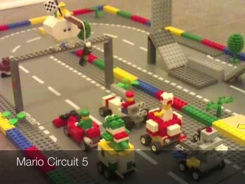 Lego Mario Kart Ds Youtube Lego Mario Lego Super Mario