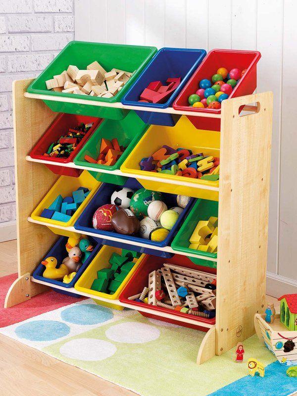 A ordenar ideas para organizar el cuarto de los peques - Estanterias infantiles online ...