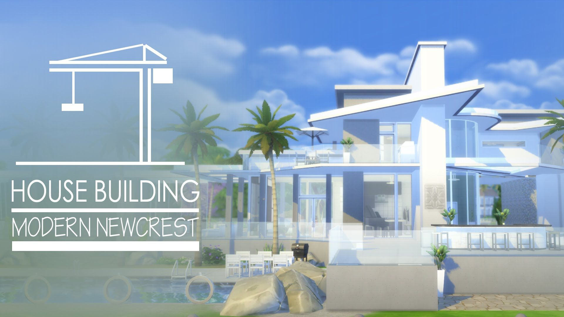 the sims 4 house modern newcrest ideas for the house pinterest