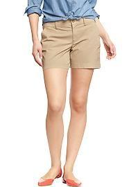 Women's Twill Shorts (5