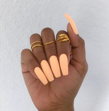 64 super ideas nails summer coffin colour nails  nail