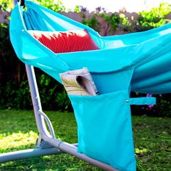 The RISÖ hammock even has a handy pocket perfect for those summer reads