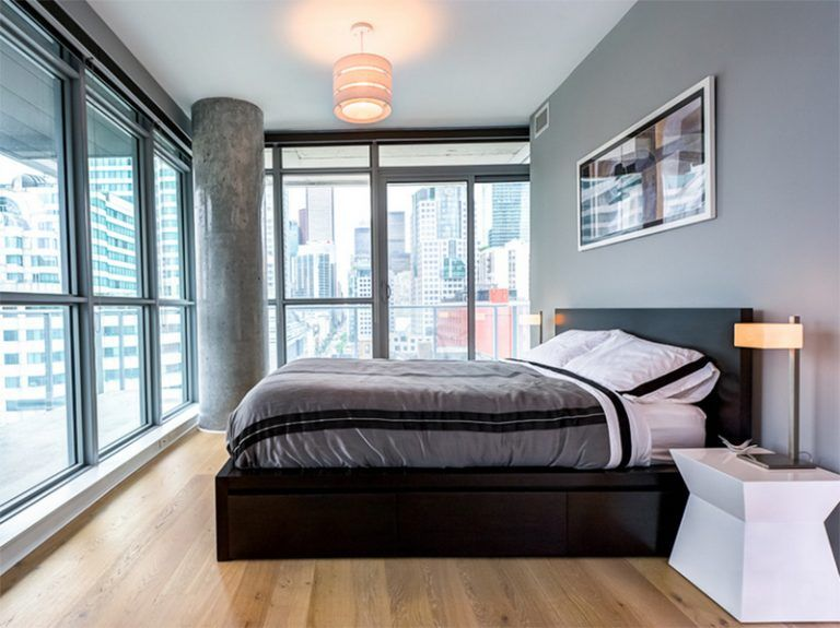 27 Stylish Bachelor Pad Bedroom Ideas For Men In 2020