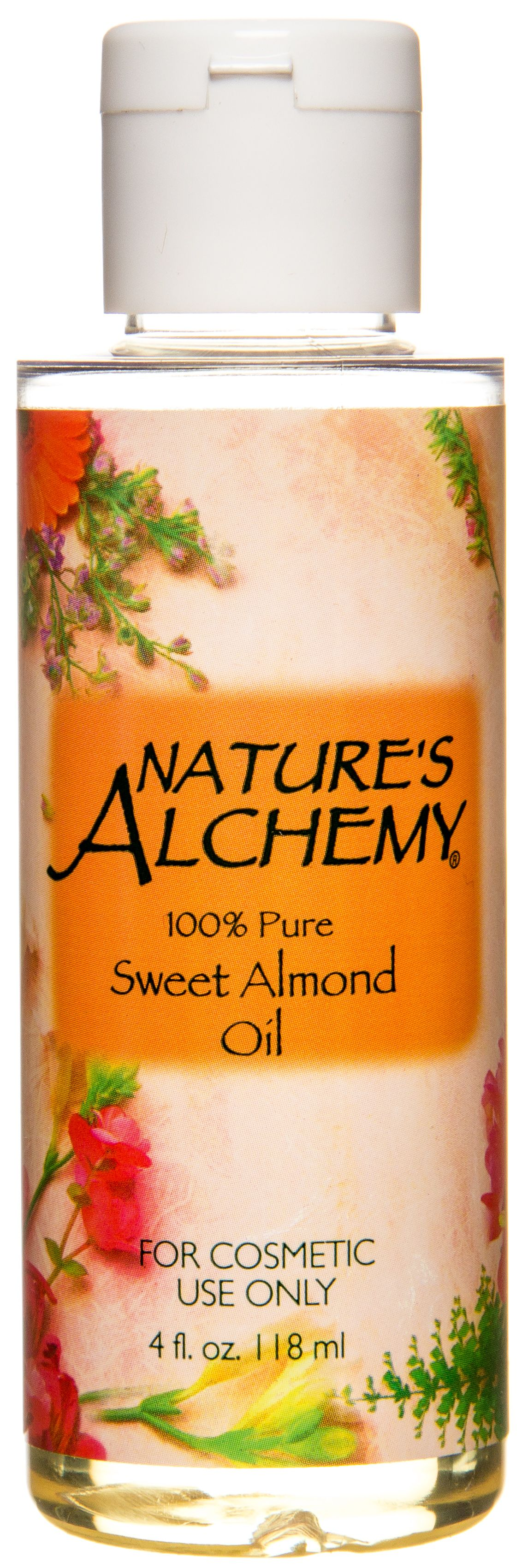 Nature's Alchemy Almond Oil, 4 floz #jojobaoil