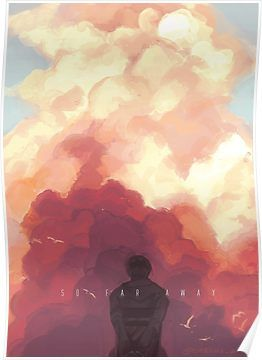 So Far Away Poster By Auriee Art Bts Drawings Far Away