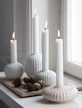 hammersh i kerzenst nder in wei rosa von k hler design interior accessoires dekoration. Black Bedroom Furniture Sets. Home Design Ideas