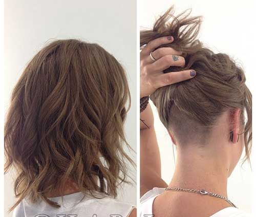 Must See Wavy Bob Hair Pics Bob Haircut And Hairstyle Ideas Hair Styles Undercut Long Hair Long Hair Styles