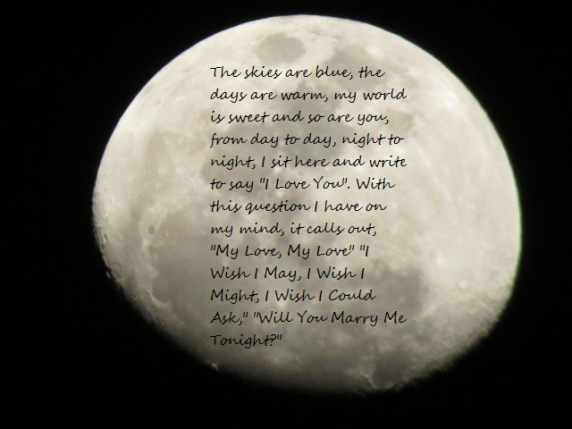 My Love Full Moon | Love Poems | Love poems, Moon