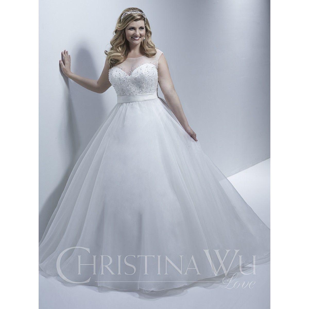 Winter wonderland wedding dress  Style   Christina Wu Love  Wedding Dresses  Pinterest