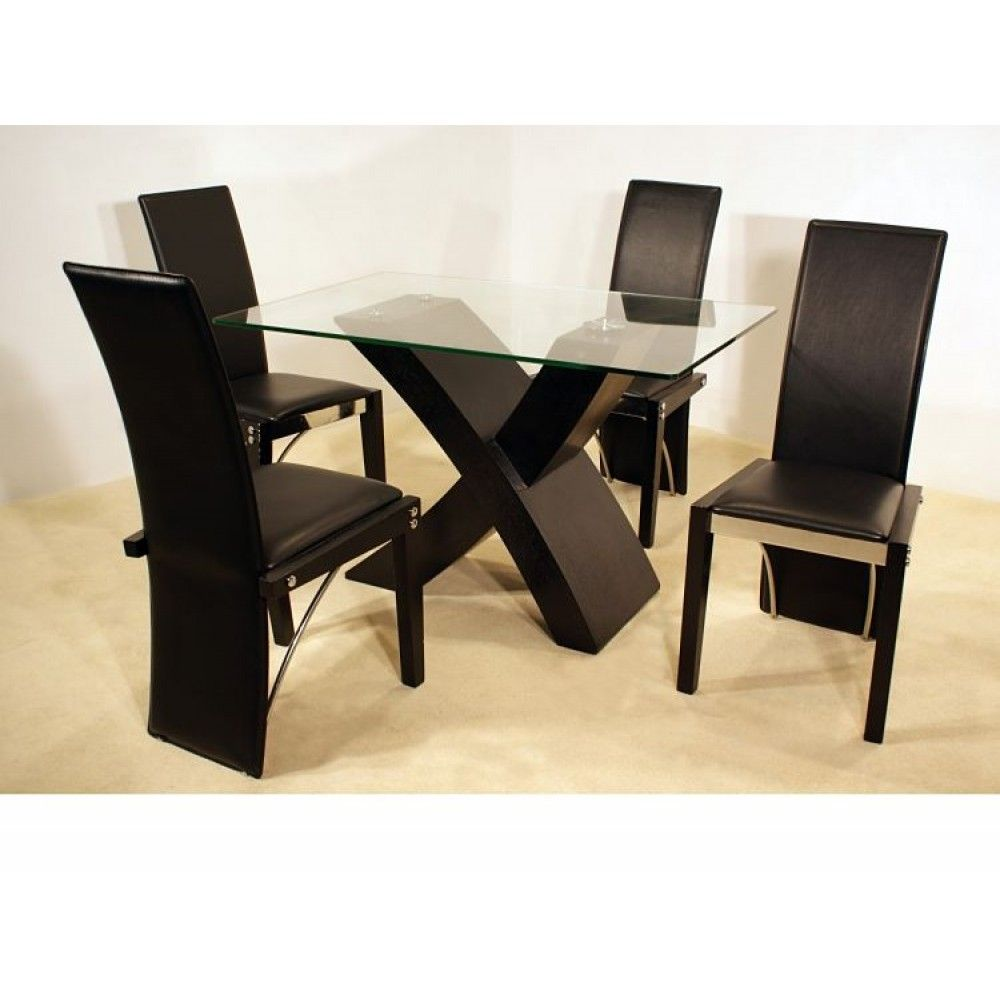 19 Excellent Glass Top Dining Table And Chairs Digital Picture ...