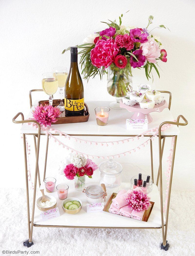 A Relaxing Home Spa Party for Mother\'s Day | Bloggers\' Best ...
