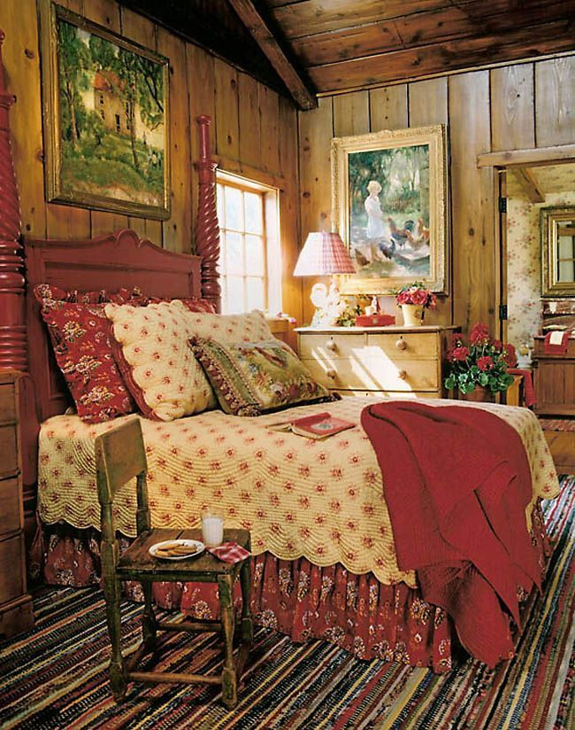 Ralph Lauren Style Decorating For Warm Cozy