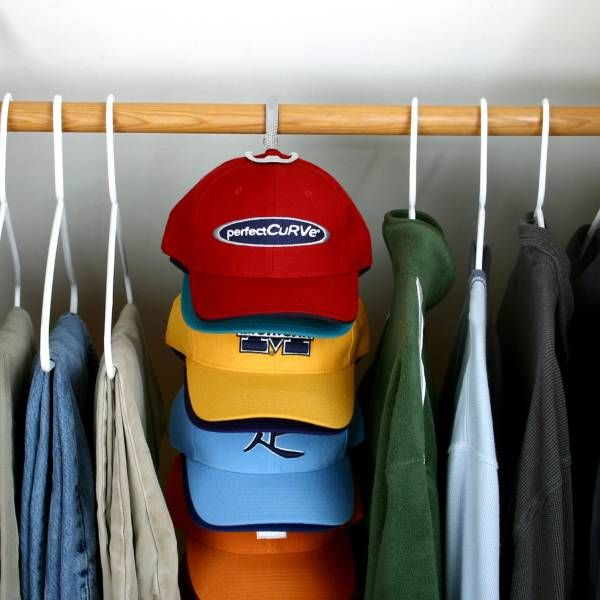 CapRack System, Holds/Displays Baseball Caps, Perfect Curve, New