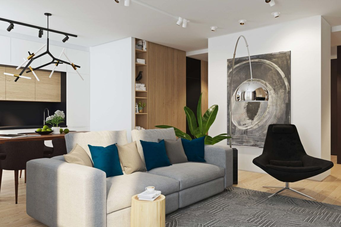 Contemporary Apartment Designed By Geometrium In Moscow Russia