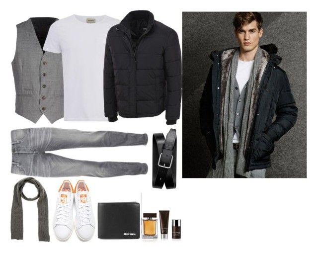 """Men's Fashion Week Inspired"" by chicclo on Polyvore featuring Eleventy, Oliver Spencer, Massimo Dutti, Ralph Lauren, Black Rivet, Scotch & Soda, Christian Dior, Banana Republic, Diesel and mens"