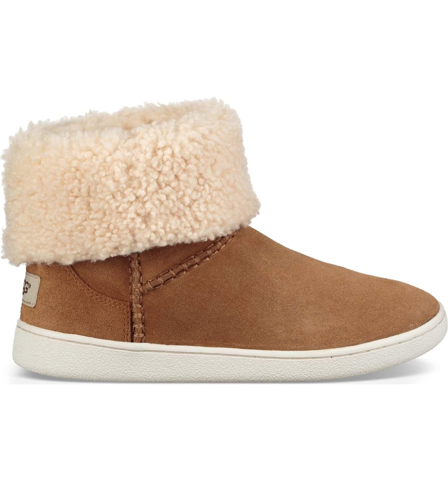Mika Classic Genuine Shearling Sneaker