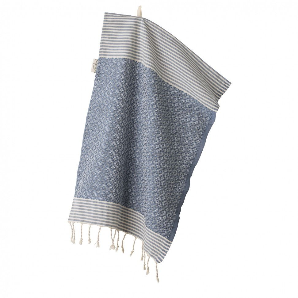 House of Rym Wipe me off - Hand Towel Blue | { a b o d e } | Hand
