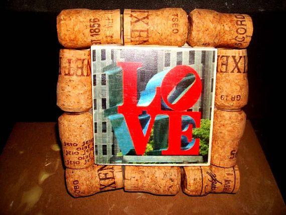 Love Park Phila Pa Art / Deco. Trivet  4 by BrownBriarCreations