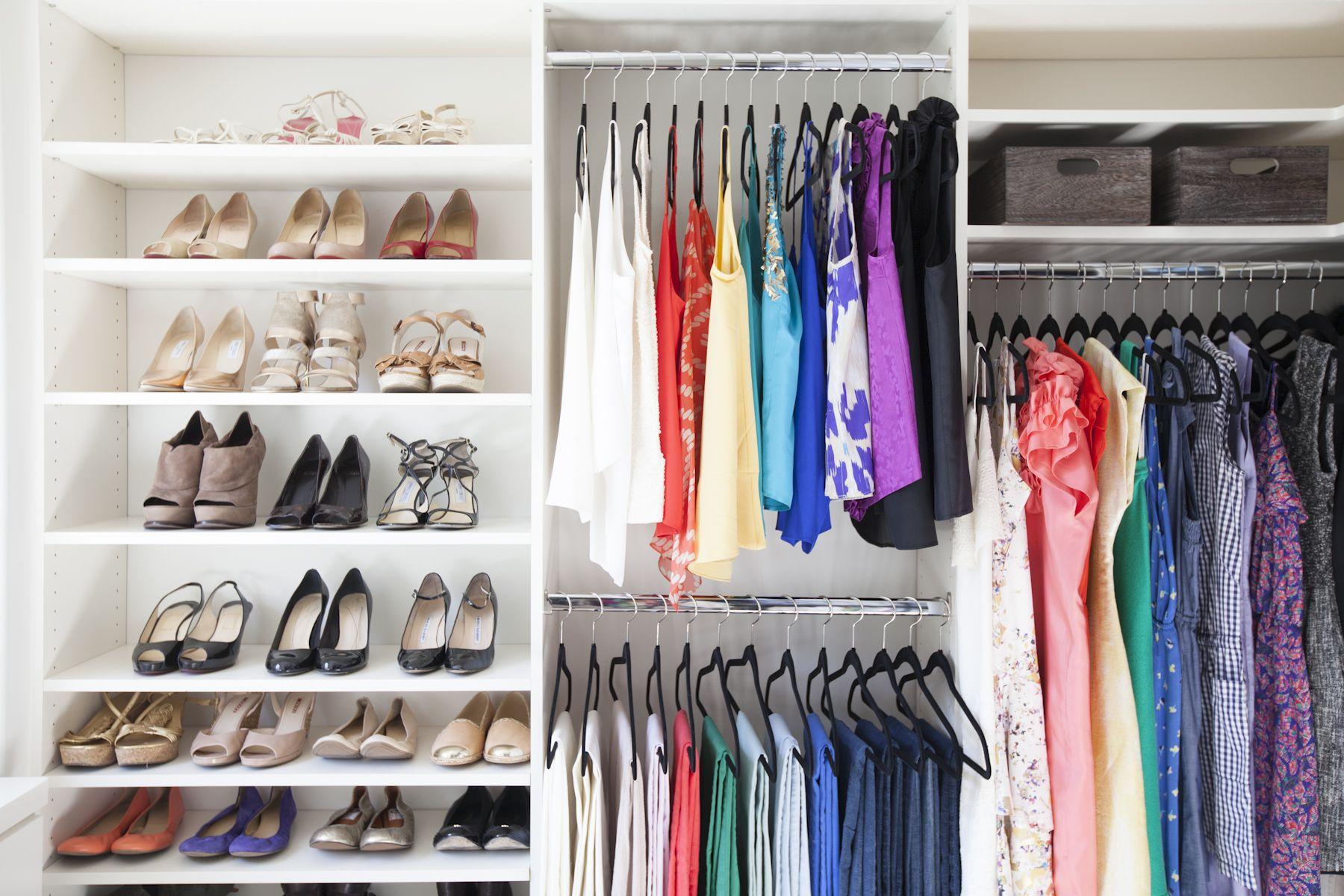organized closet // Organizing Spotlight: Neat Method ...