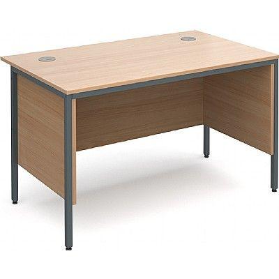 Maestro H Frame Office Desks With Modesty Panels