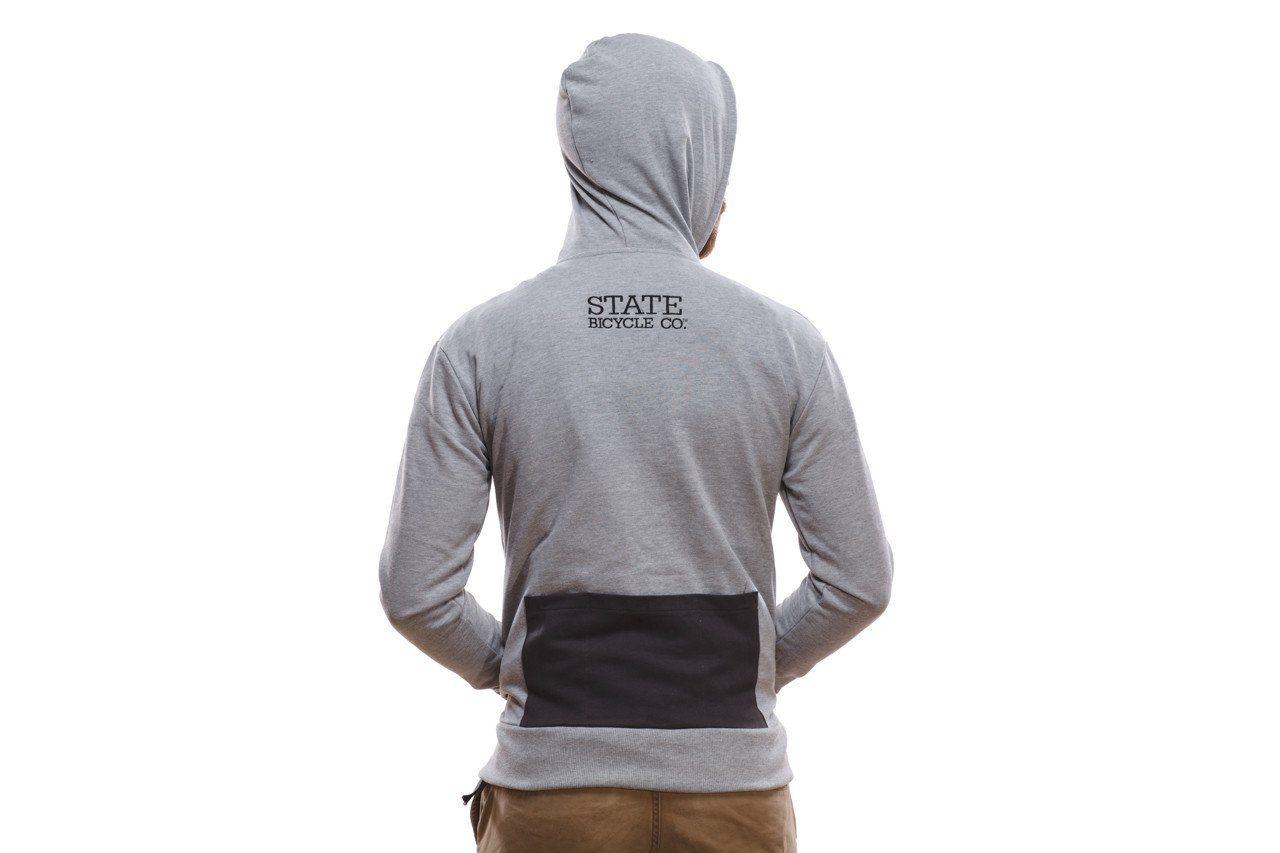 Riding Hoodie Grey Hoodies & Jackets Grey hoodie
