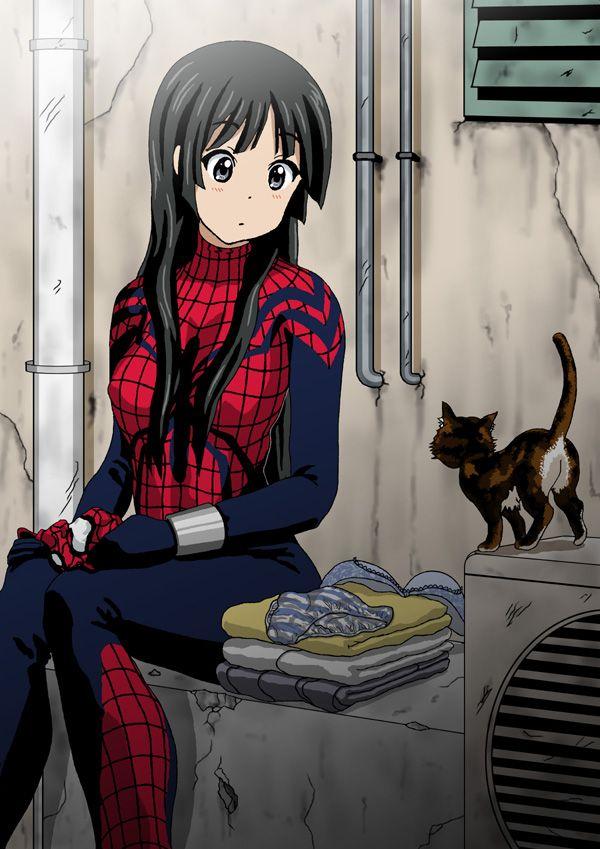 Spider girl long sleeve dress