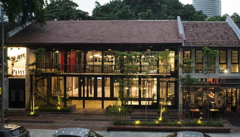 Projects The Row Studio Bikin Architect Kuala Lumpur Malaysia Architecture House Architecture Exterior Design