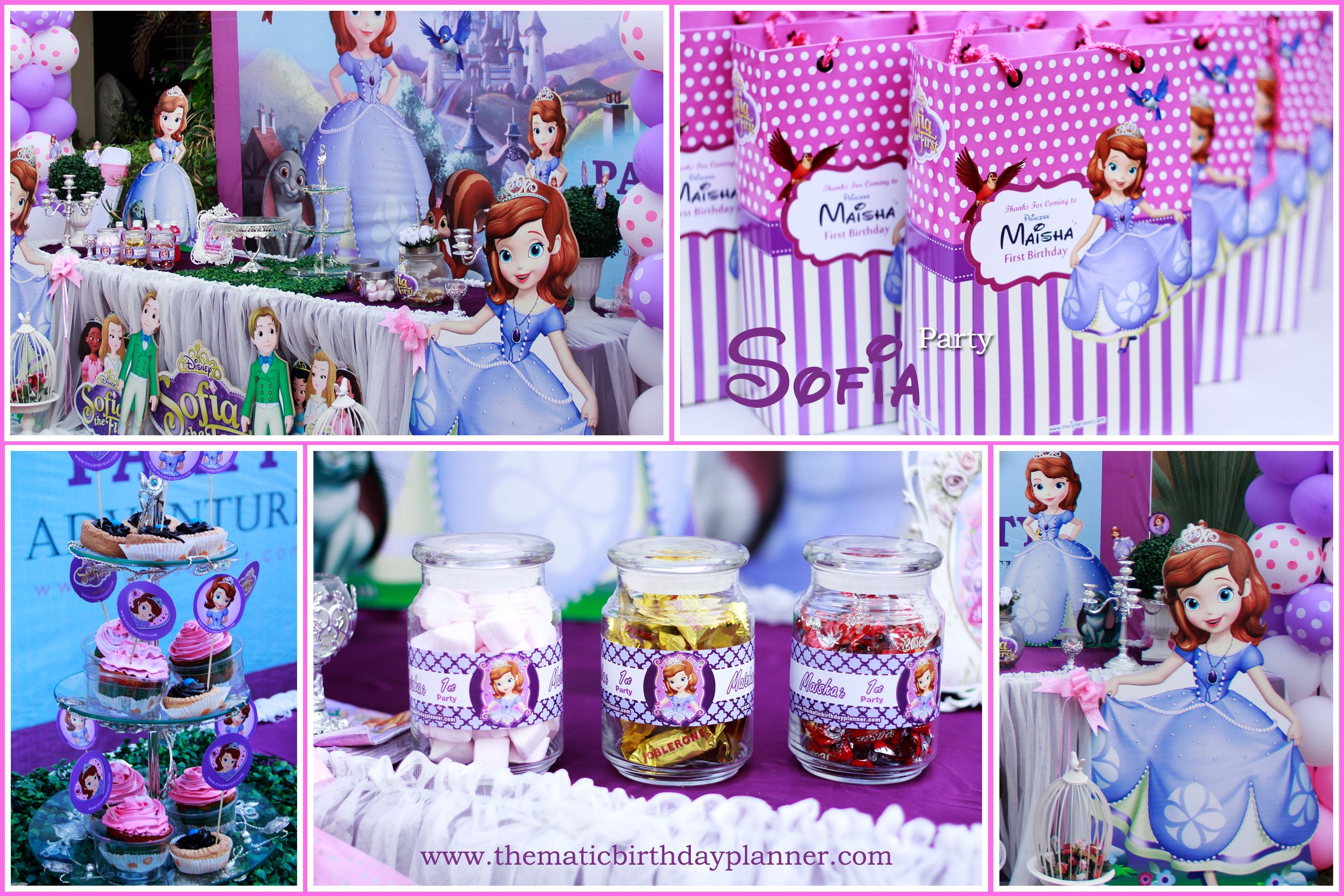 Find the best Birthday party theme ideas fro Sofia The First for