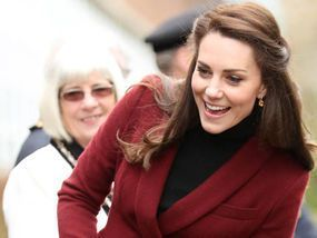 Beautiful in burgundy! Duchess of Cambridge visits Wales for Action for Children projects #visitwales THE Duchess of Cambridge has visited Wales for her first engagements with Action for Children since becoming the charity's patron. #visitwales