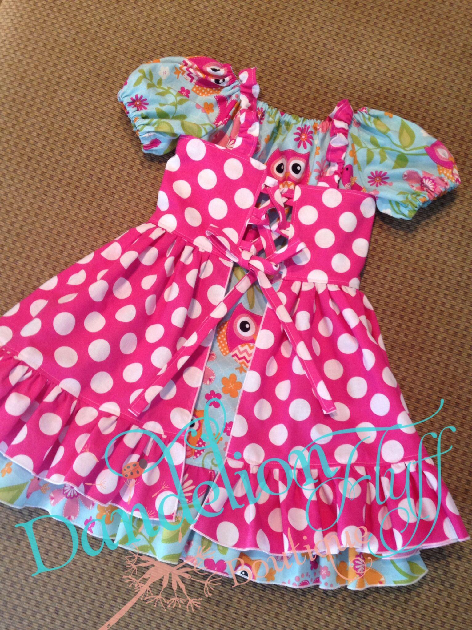 Dandelion Fluff Boutique corset top with peasant dress