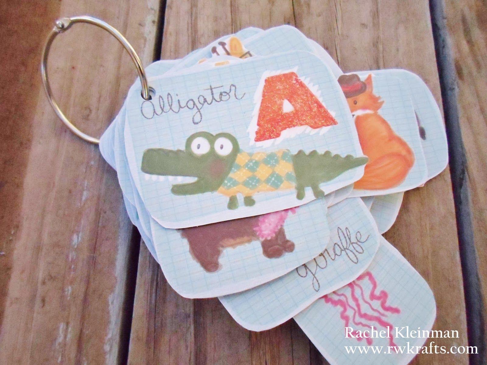Dcwv Diary Abc Flashcards For #Preschool Super Cute
