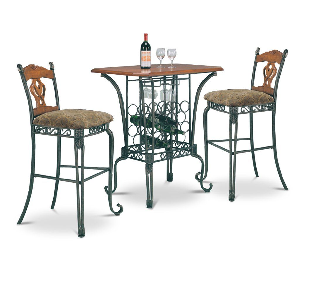 Bar Tisch Bar Table And Chairs Set Stühle Home Kitchens Home Bar