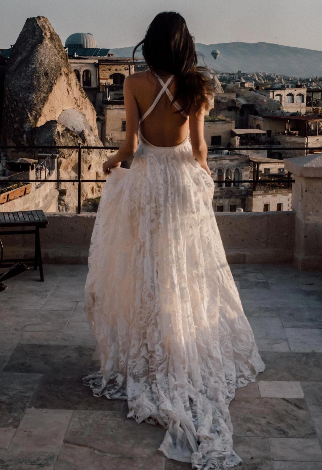 Lace wedding dress ivory january 2019 Megan in   Fashionable Bedroom  Pinterest  Wedding dresses