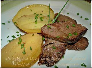 54509adc6 Na cozinha lá de casa: Carne Assada com Batatas | 1- Hora do Almoço ...
