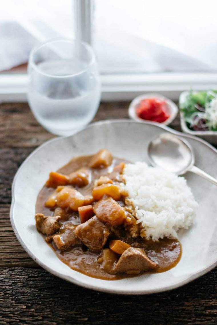 Japanese Beef Curry Rice Chopstick Chronicles Recipe Beef Curry Stew Recipe Japanese Beef Curry Rice
