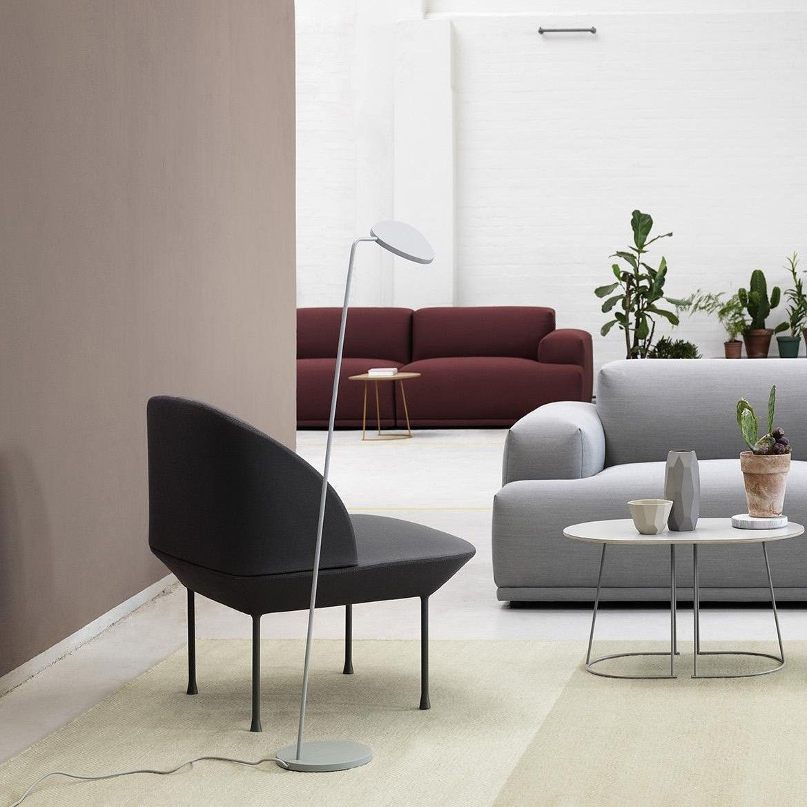 Muuto Leaf Led Floor Lamp Contemporary Home Decor Living Room Inspiration Lamps Living Room