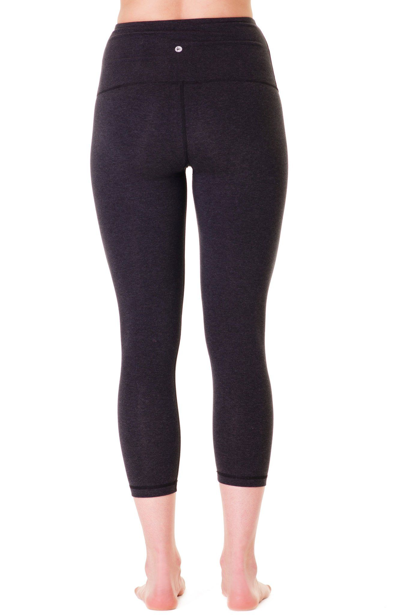 9f559bc9a787e pregnancy workout - 90 Degree By Reflex High Waist Cotton Power Flex Capri  Heather Charcoal Small ** You can figure out more details at the web link  of the ...
