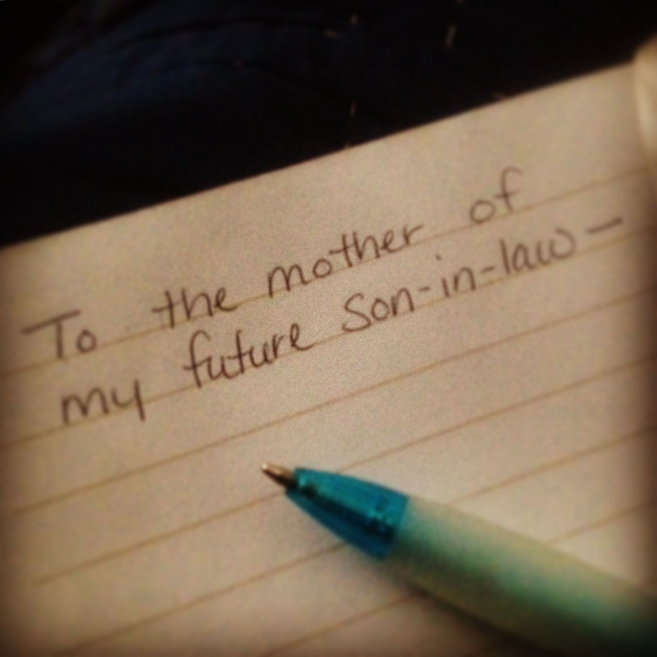 To The Mother Of My Future Son In Law Wife Mother Pastor Son In Law Letter To My Daughter Letter To Son