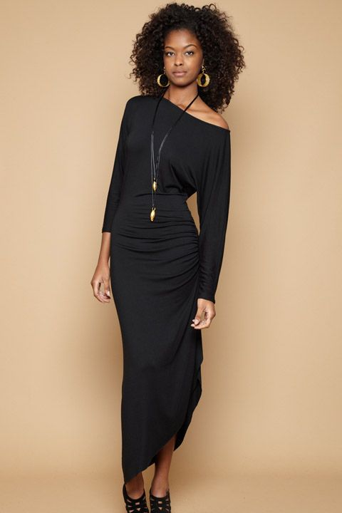 Rachelpally.com  Holiday 2011  Black Fabiana Dress