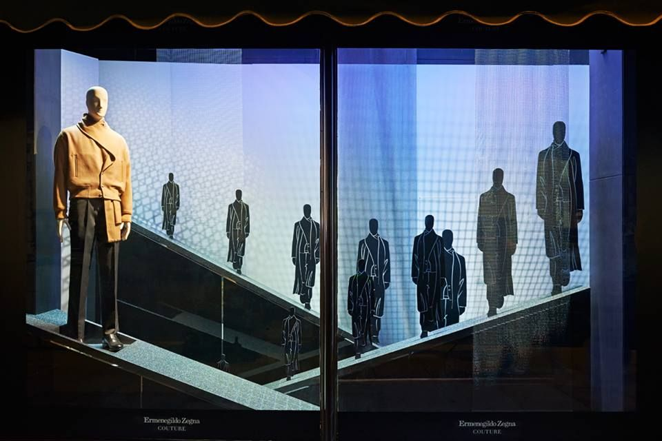 Image result for zegna mannequin display