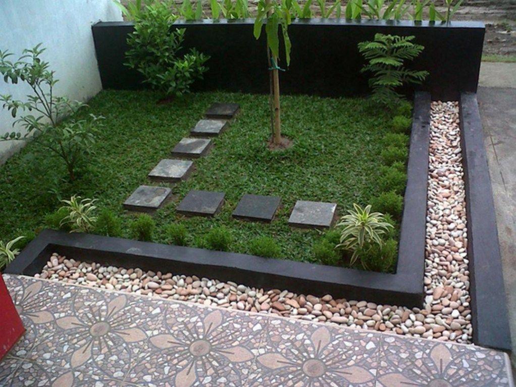 Elegance Minimalist Backyard Landscape Design