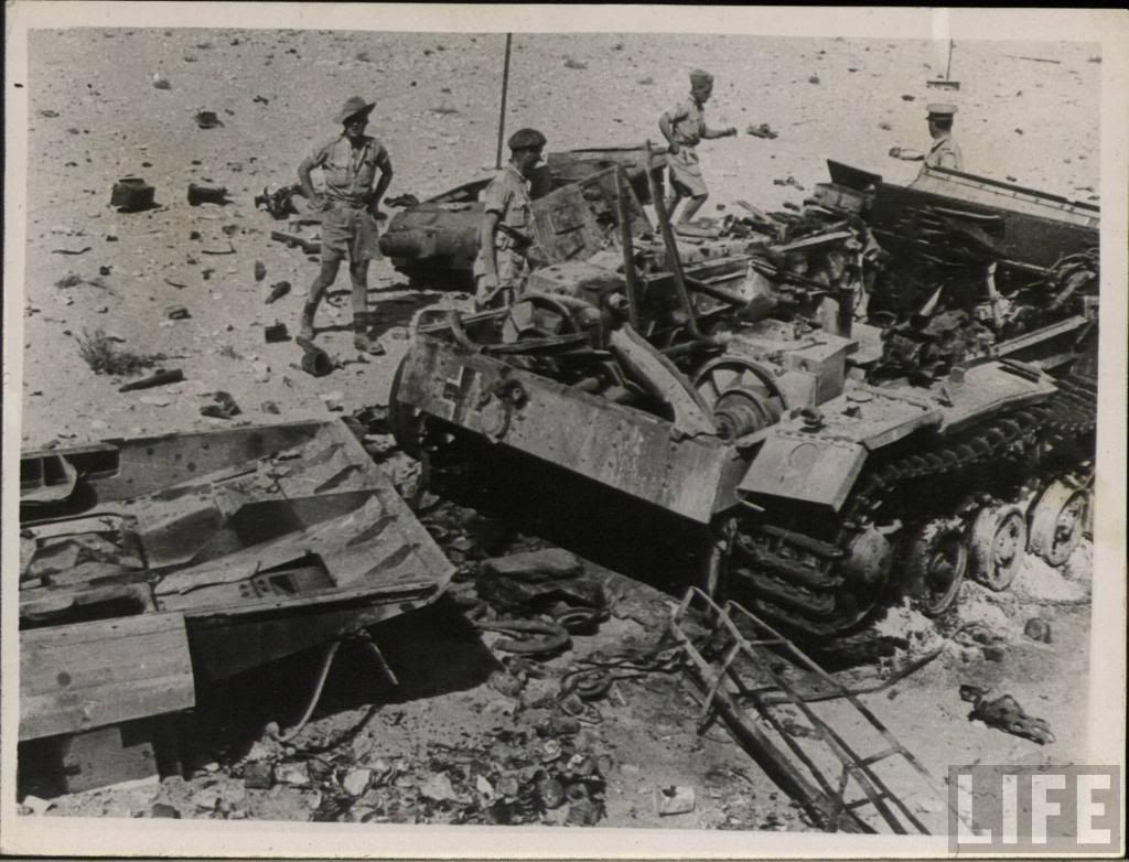 Destroyed Panzer III