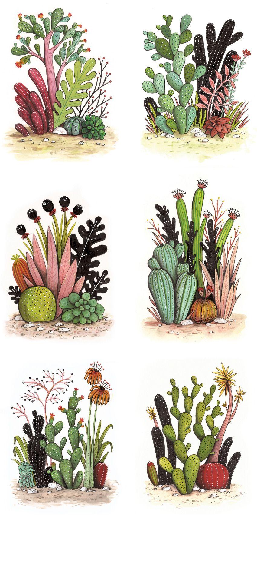 cactus shaped note - Google 검색