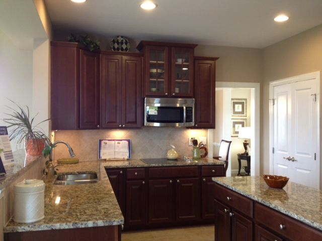 Ryan Homes Victoria Model Home Kitchen