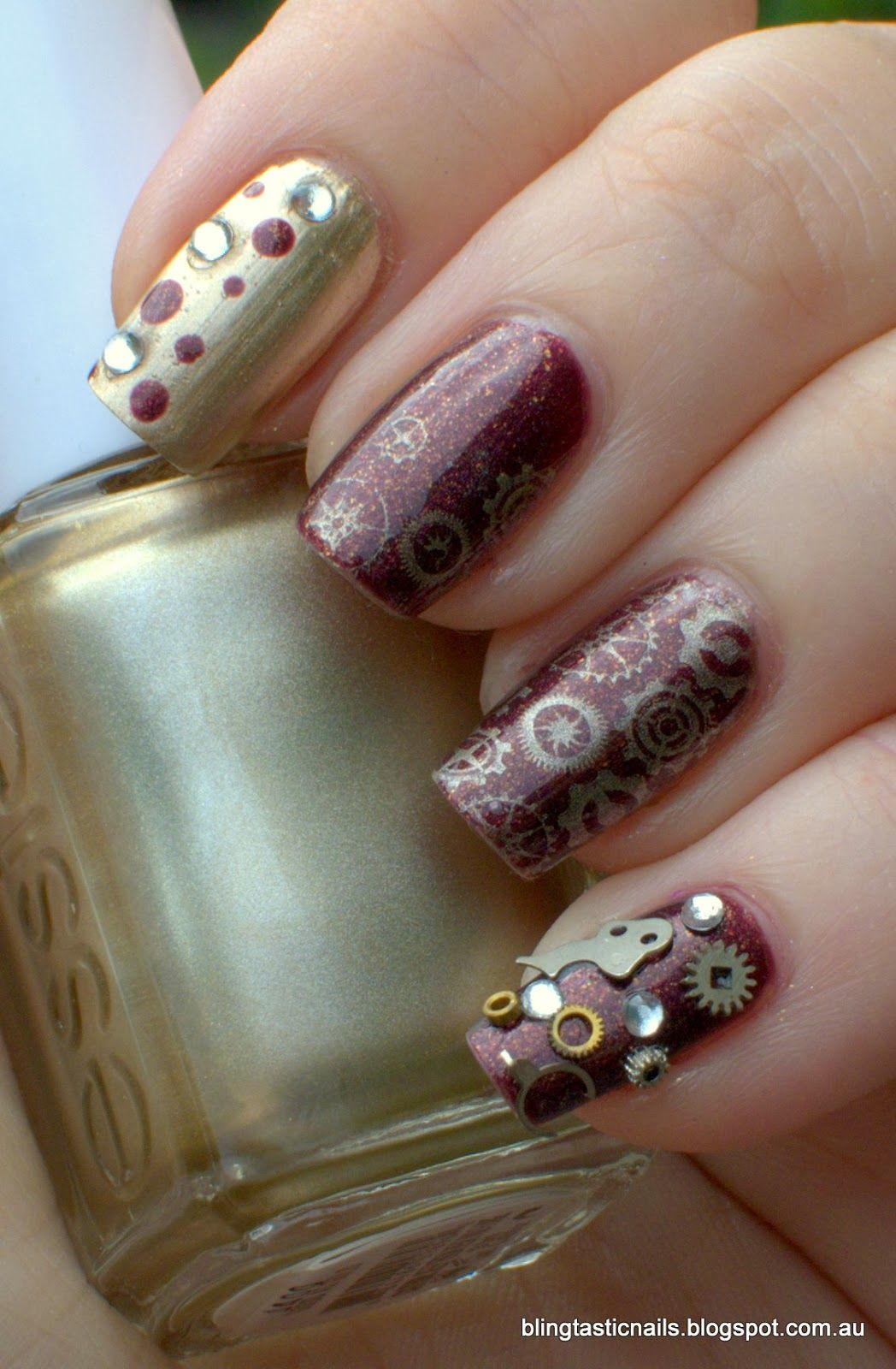 Essie Good as Gold with Aldi Five Star Bron-zite with Bundle Monster ...