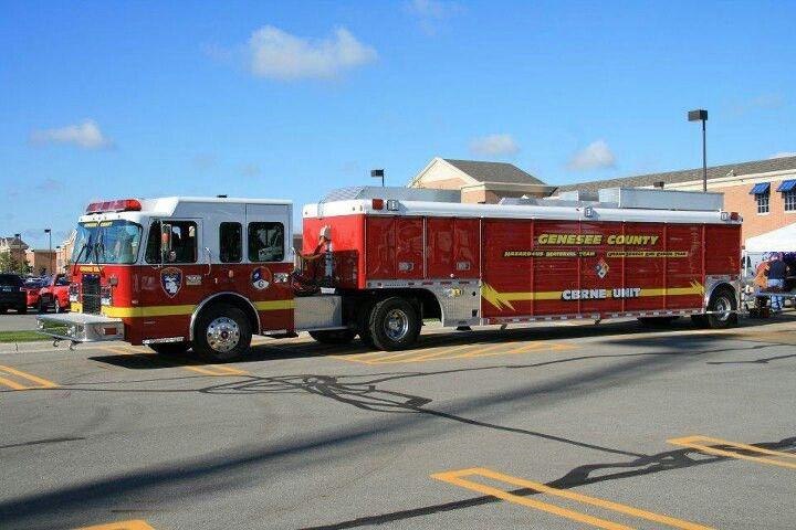 Genesee Co Emergency Vehicles Fire Trucks Fire Service