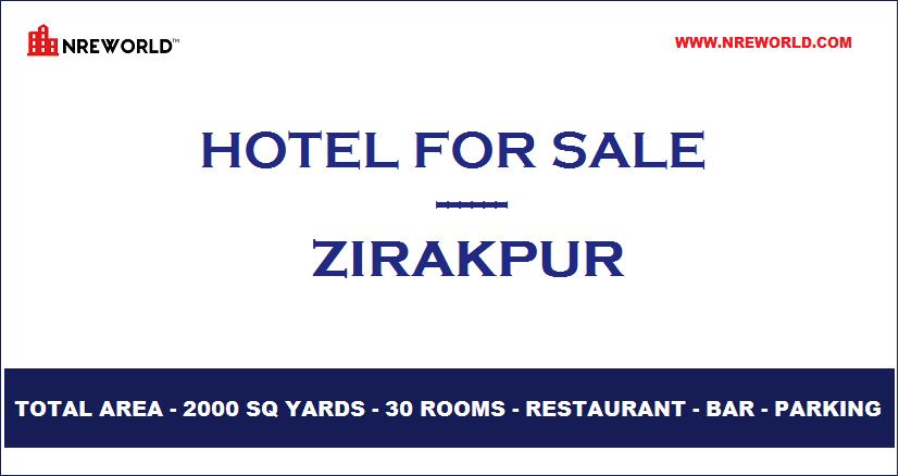 #Hotel 30 Rooms for Sale in Zirakpur - Punjab - India.  For Further more details kindly Email us at - nreworld@nreworld.com Visit our website - www.nreworld.com  #hotelforsale #zirakpur #Punjab #Realestateinvestment #commercial #nreworld #hotelsale #hotelinvestment #hotels